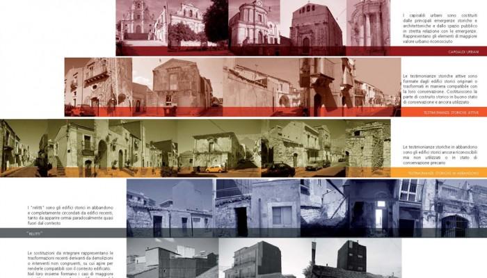 7 le situazioni nel costruito del centro storico
