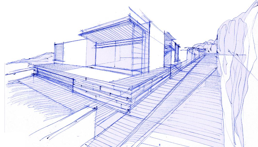 Nuovo quartiere residenziale a9studio for Case a pianta aperta