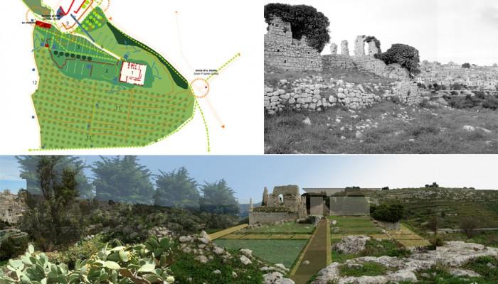 schema progetto urbano parco del castello