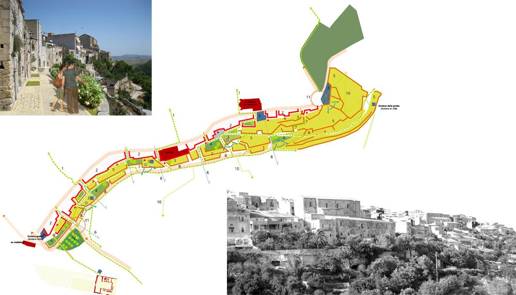 Progetti urbani all interno delle linee guida per la for Progetti di piani di studio