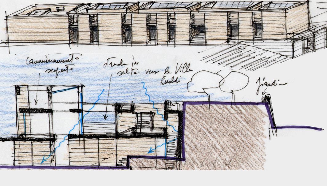 Studi per il progetto del museo dei fori imperiali a9studio for Progetti di piani di studio