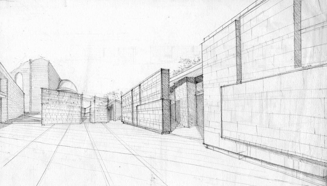 Studi per il progetto del museo dei fori imperiali a9studio for Piani di studio del garage