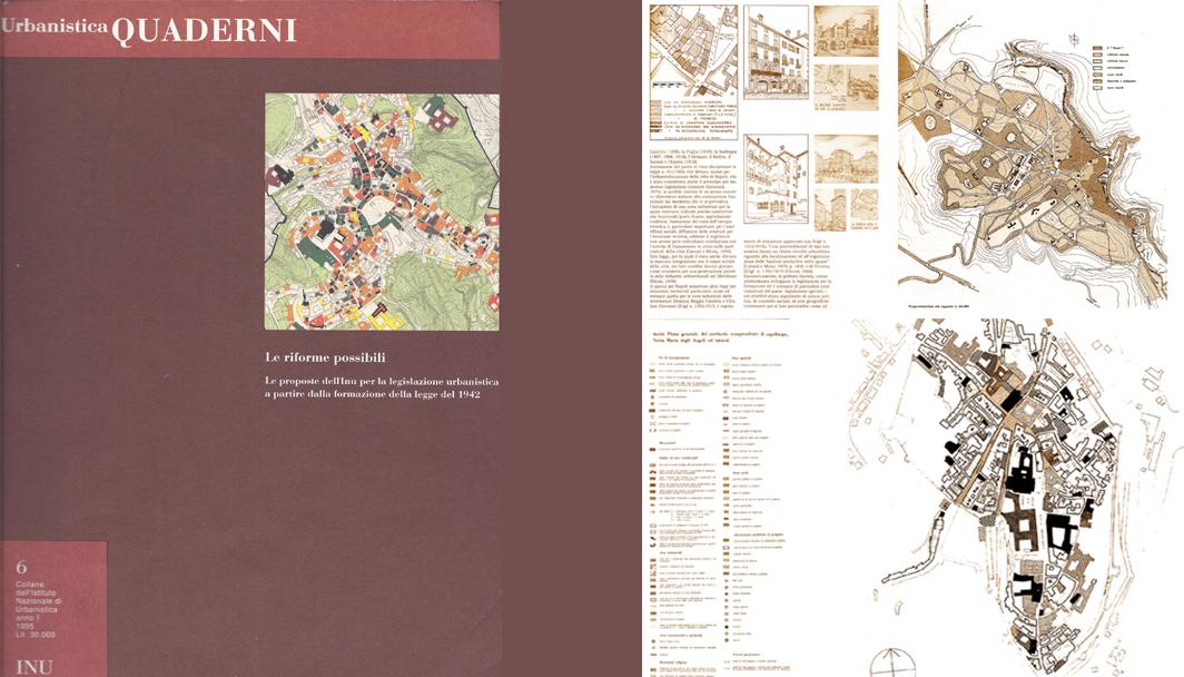 Urbanistica quaderni n 6 piani regolatori italiani del for 1 1 2 piani di cottage storia