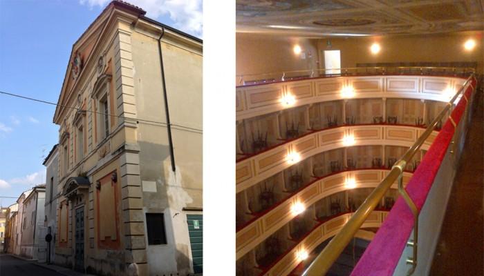 01_la facciata e i palchi del teatro di guastalla